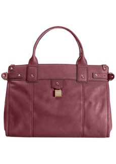Tommy Hilfiger Carpenter Leather Convertible E/W Tote