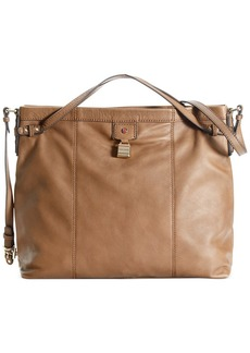 Tommy Hilfiger Carpenter Leather Convertible Hobo