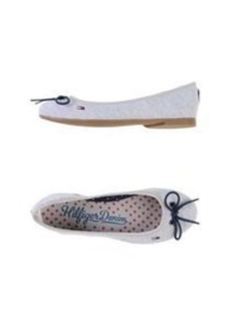 tommy hilfiger tommy hilfiger denim ballet flats shoes. Black Bedroom Furniture Sets. Home Design Ideas