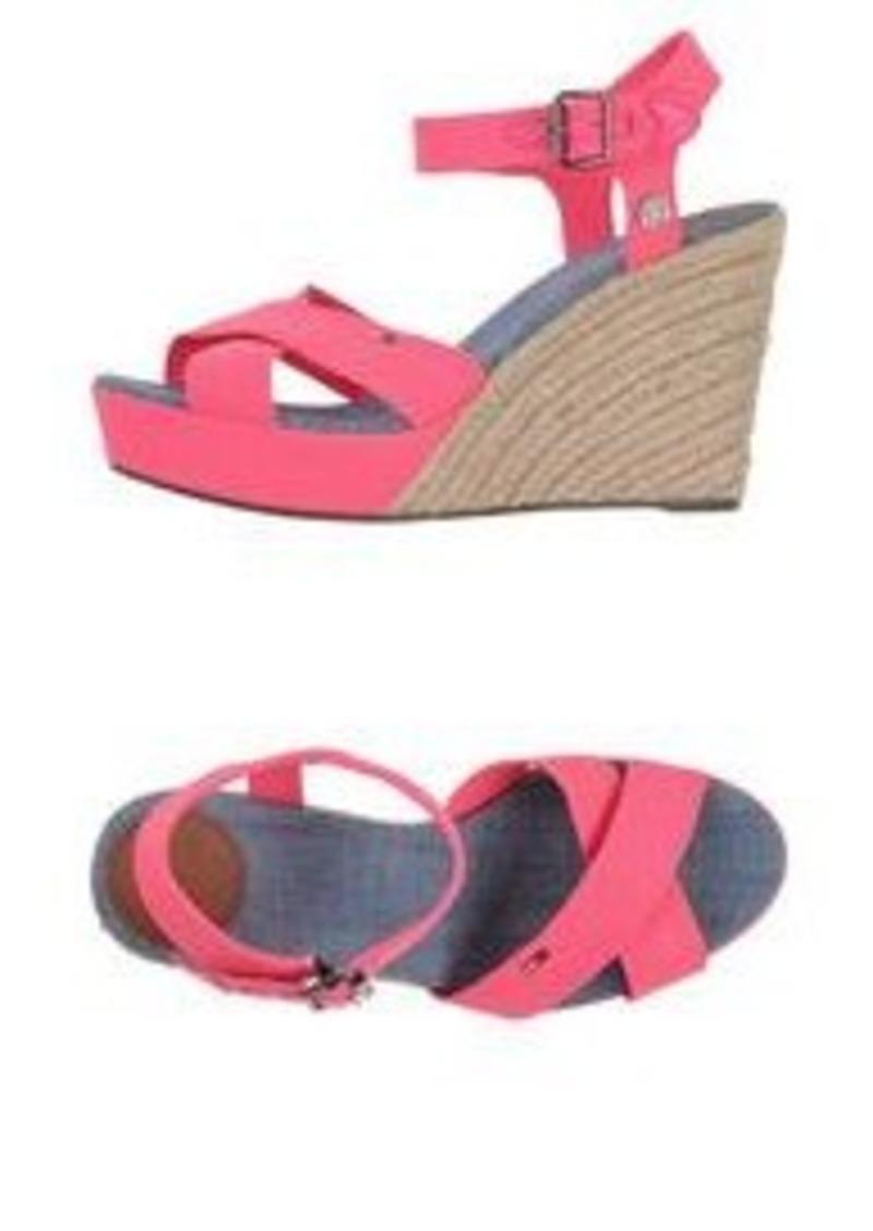 tommy hilfiger tommy hilfiger denim espadrilles shoes. Black Bedroom Furniture Sets. Home Design Ideas