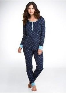 Tommy Hilfiger Eve Flurry Poseidon Thermal Knit Pajama Set
