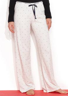 Tommy Hilfiger Fashion Basic Logo Pajama Pants