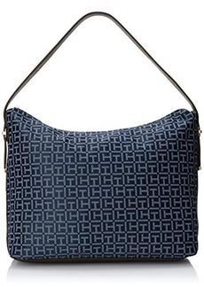 Tommy Hilfiger H Group Monogram Jacquard 6925633 Shoulder Bag
