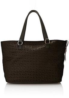 Tommy Hilfiger H Group Monogram Jacquard 6925637 Shoulder Bag