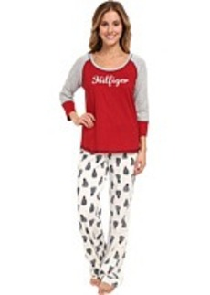 Tommy Hilfiger Holiday Pajama Set