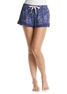 Tommy Hilfiger® Lace Edge Lounge Shorts
