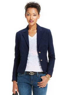 Tommy Hilfiger Long-Sleeve Double-Button Blazer