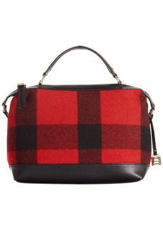 Tommy Hilfiger Monogram Wool Convertible Duffle