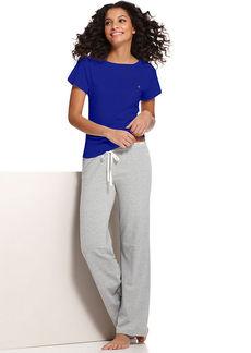Tommy Hilfiger Navy Short Sleeve Pajama Top