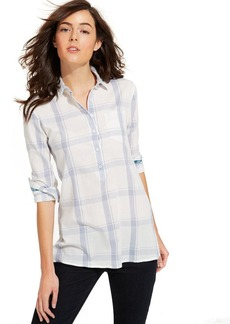 Tommy Hilfiger Plaid Button-Down Shirt