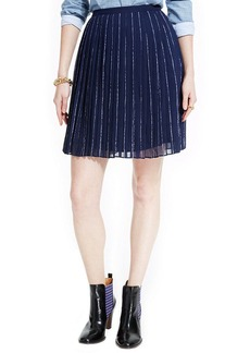 Tommy Hilfiger Pleated A-Line Skirt