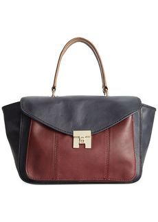 Tommy Hilfiger Postino Casual Leather Convertible Satchel