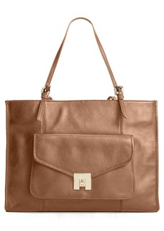 Tommy Hilfiger Postino Casual Leather Large Tote