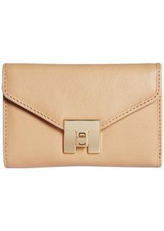 Tommy Hilfiger Postino Leather Medium Flap Wallet