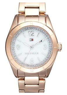 Tommy Hilfiger Semiprecious Stone Dial Bracelet Watch, 30mm