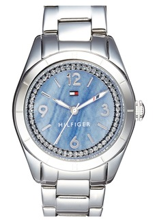 Tommy Hilfiger Semiprecious Stone Dial Bracelet Watch, 30mm