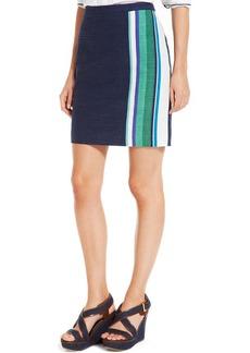 Tommy Hilfiger Side Stripe Pencil Skirt
