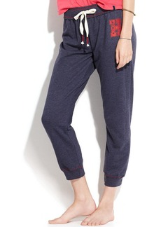 Tommy Hilfiger Slim Leg Cropped Pajama Pants
