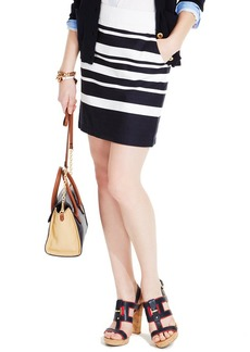 Tommy Hilfiger Striped Pencil Skirt