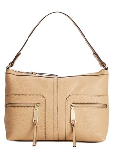 Tommy Hilfiger T Group Leather Hobo