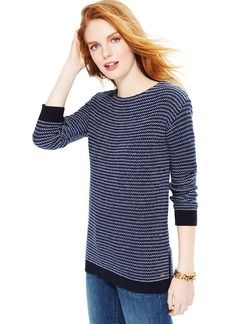 Tommy Hilfiger Textured-Knit Sweater