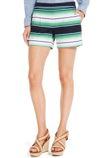 Tommy Hilfiger Textured Stripe Pleated Shorts