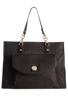 Tommy Hilfiger TH Coin Monogram Jacquard Tote