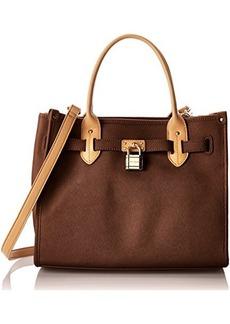 Tommy Hilfiger TH Heritage Lock Shopper Saffiano Shoulder Bag
