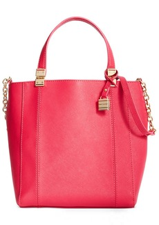 Tommy Hilfiger TH Hinge Saffiano Convertible Small N/S Tote