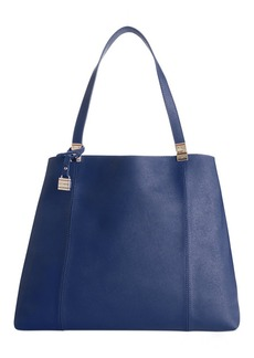 Tommy Hilfiger TH Hinge Saffiano Leather Tote