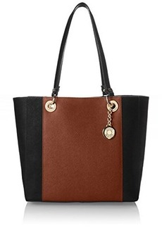 Tommy Hilfiger TH Stripe Colorblock Saffiano Shoulder Bag