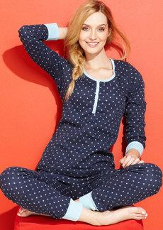 Tommy Hilfiger Thermal Top and Pajama Pants Set