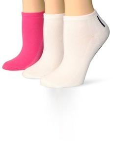 Tommy Hilfiger Women's 3 Pair Under Stripe Liner Sock