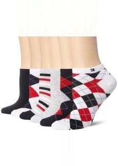 Tommy Hilfiger Women's 6-pack Argyle and Stripe Sock