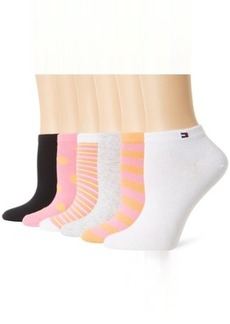 Tommy Hilfiger Women's 6-pack Dots and Stripes Sock