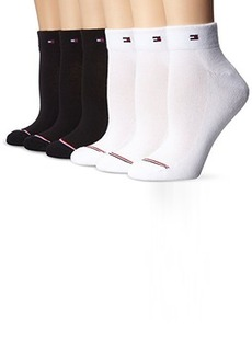 Tommy Hilfiger Women's 6-pack Sporty Athletic Sock