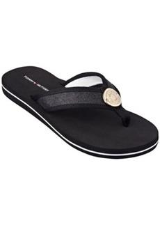 Tommy Hilfiger Women's Carma Glitter Flip Flops Women's Shoes