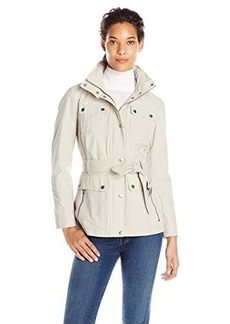 Tommy Hilfiger Women's Coated-Cotton Field Jacket