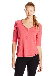 Tommy Hilfiger Women's Elbow Sleeve Henley