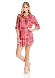 Tommy Hilfiger Women's Flannel Sleepshirt