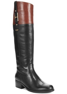 Tommy Hilfiger Women's Gibsy Wide Calf Riding Boots