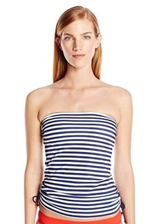 Tommy Hilfiger Women's Lake Side Stripe Cinched Tankini