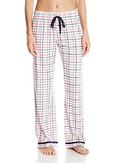 Tommy Hilfiger Women's Pajama Pant with Lace Trim
