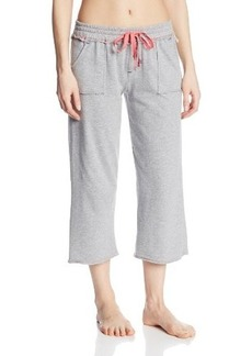 Tommy Hilfiger Women's Patch Pocket Sleep Capri