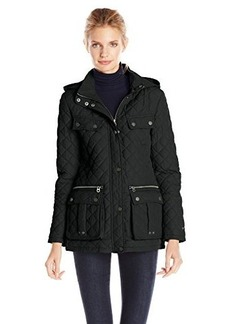 Tommy Hilfiger Women's Quilted Jacket with Hood