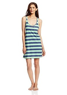 Tommy Hilfiger Women's Reverse Printed T-Strap Chemise