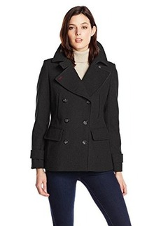 Tommy Hilfiger Women's Short Wool Peacoat