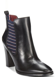 Tommy Hilfiger Women's Vitoria Chunky Heel Booties