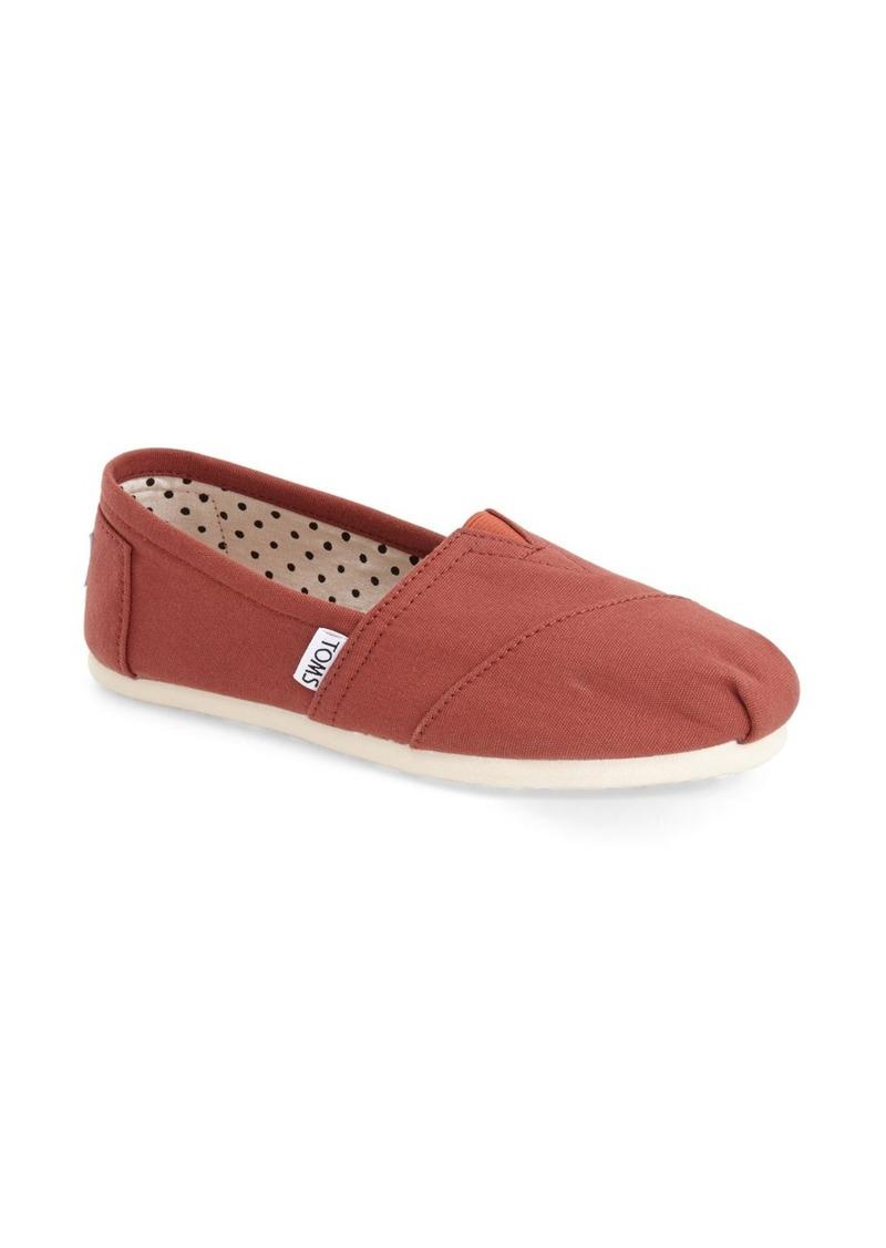 toms shoes toms classic slip on shoes shop