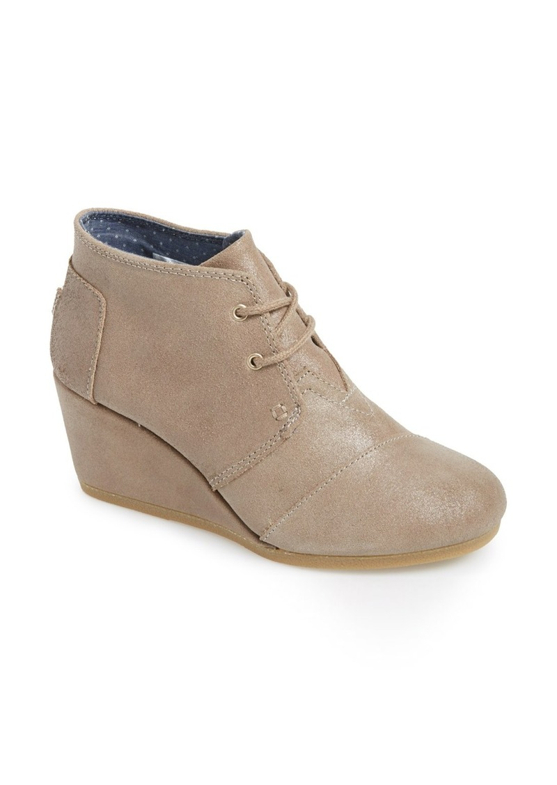toms shoes toms desert wedge bootie shoes